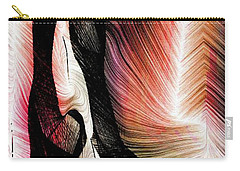 Carry-all Pouch featuring the digital art Exploring Nature by Rafael Salazar