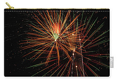 Carry-all Pouch featuring the photograph Explosion by Broderick Delaney