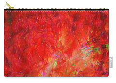Explosion In Watercolor Carry-all Pouch