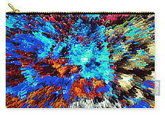 Explosion Of Color Carry-all Pouch