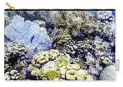 Carry-all Pouch featuring the photograph Explosion Of Life I by Perla Copernik