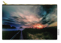 Carry-all Pouch featuring the photograph Explosive Morning #h0 by Leif Sohlman