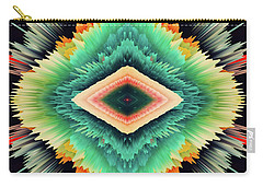 Carry-all Pouch featuring the photograph Exponential Flare by Colleen Taylor