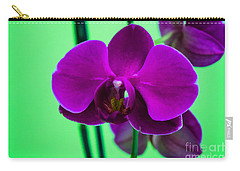 Exposed Orchid Carry-all Pouch