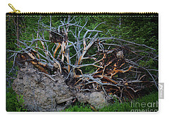 Exposed Roots Carry-all Pouch by John Roberts