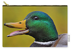 Carry-all Pouch featuring the photograph Express by Tony Beck