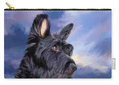 Expression Is Everything Scottish Terrier Dog Carry-all Pouch