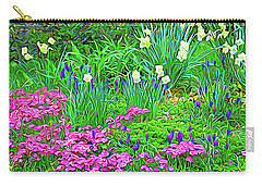 Carry-all Pouch featuring the photograph Expressionalism Garden Escape by Aimee L Maher Photography and Art Visit ALMGallerydotcom
