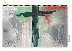 Expressionist Cross 3- Art By Linda Woods Carry-all Pouch