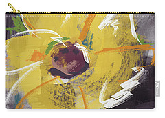 Expressionist Sunflower- Art By Linda Woods Carry-all Pouch