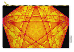 Carry-all Pouch featuring the digital art Exprograce by Andrew Kotlinski
