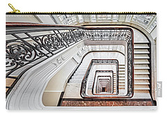 Carry-all Pouch featuring the photograph Exquisite Staircase Nyc  by Susan Candelario