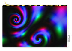 Carry-all Pouch featuring the digital art Exthusones by Andrew Kotlinski