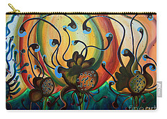 Extraterrestrial Flora Carry-all Pouch