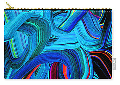 Extruded Color 19 Carry-all Pouch