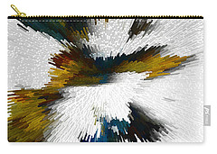Carry-all Pouch featuring the digital art Sculptural Series Digital Painting 612.102310extrusion by Kris Haas