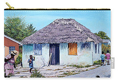 Exuma Thatch Hut Carry-all Pouch