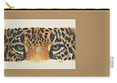Eye-catching Jaguar Carry-all Pouch by Barbara Keith