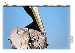 Carry-all Pouch featuring the photograph Eye Contact by AJ Schibig