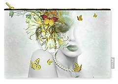 Eyes Of Beauty Carry-all Pouch