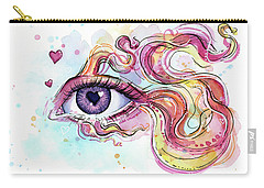 Eye Fish Surreal Betta Carry-all Pouch by Olga Shvartsur