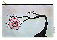 Eye Heart On Fire Carry-all Pouch by Edwin Alverio