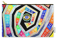 Eye Of The Storm Carry-all Pouch by Jeremy Aiyadurai