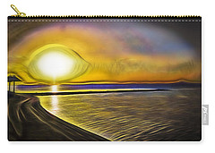 Carry-all Pouch featuring the photograph Eye Of The Sun by Scott Carruthers