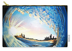 Eye Of The Wave Carry-all Pouch