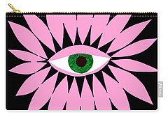 Eye On You - Black Carry-all Pouch