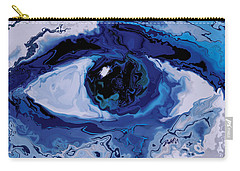 Carry-all Pouch featuring the digital art Eye by Rabi Khan