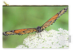 Carry-all Pouch featuring the photograph Eye See You by Anita Oakley