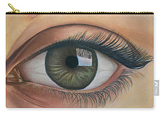 Eye - The Window Of The Soul Carry-all Pouch by Vishvesh Tadsare