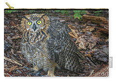 Eye To Eye With Owl Carry-all Pouch
