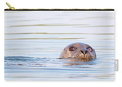 Carry-all Pouch featuring the photograph Eyes Of Doubt by Debbie Stahre