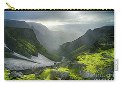 Eyjafjallajoekull Iceland Carry-all Pouch