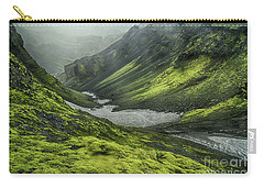 Eyjafjallajokull Iceland 4 Carry-all Pouch