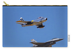 F-16 P-51d F-86 Heritage Flight- Flyby Carry-all Pouch
