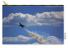 Carry-all Pouch featuring the photograph F-18 by Raymond Salani III
