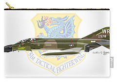 F-4d Phantom II Raf Bentwaters Carry-all Pouch