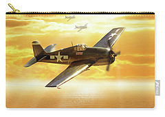 F-6f Hellcat Pacific Sunrise Carry-all Pouch
