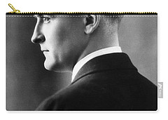 F. Scott Fitzgerald Circa 1925 Carry-all Pouch by David Lee Guss