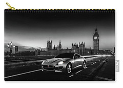 F-type In London Carry-all Pouch by Mark Rogan