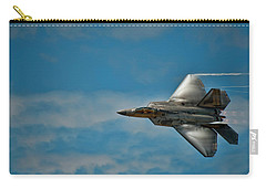 F22 Raptor Steals The Show Carry-all Pouch