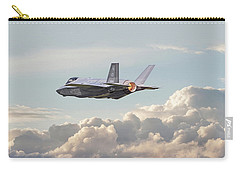 Carry-all Pouch featuring the photograph F35 -  Into The Future by Pat Speirs