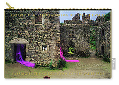Carry-all Pouch featuring the photograph Fabbriche Di Vagli Paese Fantasma Ghost Town 2 by Enrico Pelos