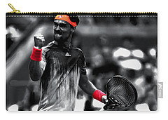 Fabio Fognini Carry-all Pouch by Brian Reaves