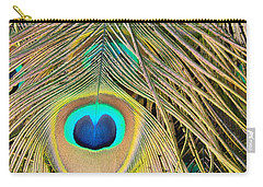 Carry-all Pouch featuring the photograph Fabulous Feathers by Margaret Bobb
