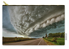 Face In The Storm Carry-all Pouch