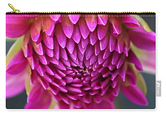 Face Of Dahlia Carry-all Pouch